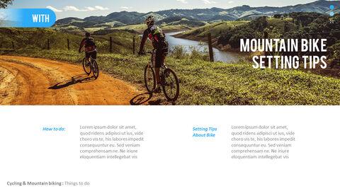 산악 자전거 파워포인트 프레젠테이션 디자인_21