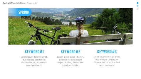 산악 자전거 파워포인트 프레젠테이션 디자인_23
