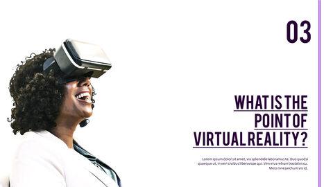 가상 현실 (VR) 심플한 파워포인트 템플릿 디자인_24