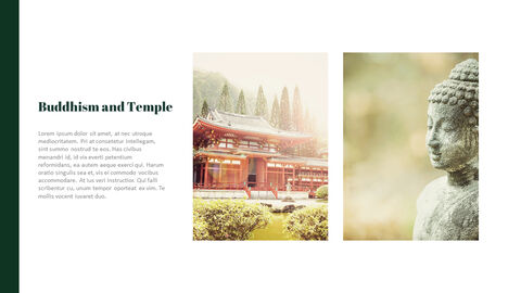 Buddhism and Temple PPT Templates Design_03