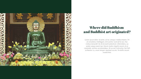 Buddhism and Temple PPT Templates Design_05