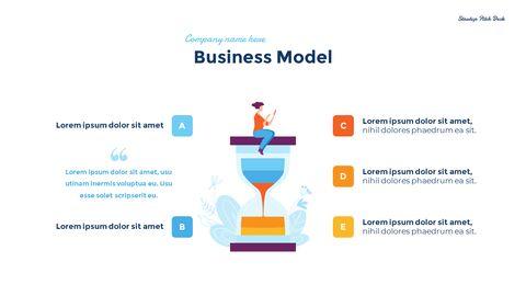 스타트업 비즈니스 디자인 피치덱 PPT 테마 슬라이드_10