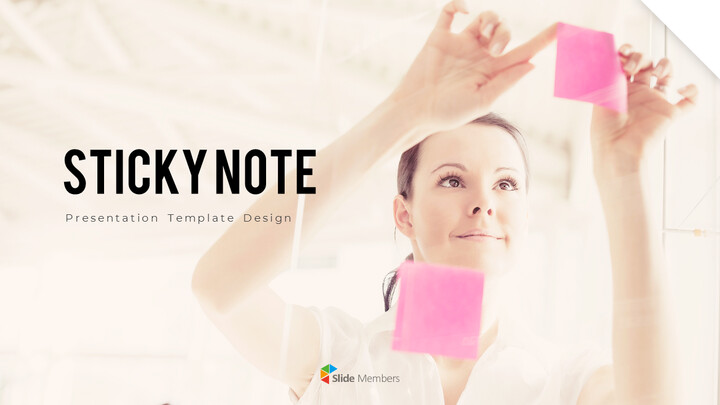 Sticky Note Best Business PowerPoint Templates_01
