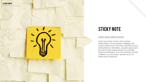 Sticky Note Best Business PowerPoint Templates_02