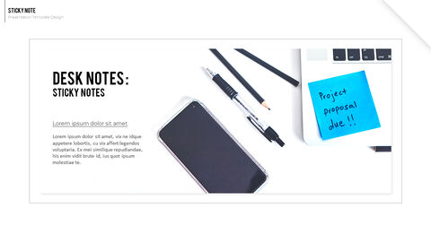 Sticky Note Best Business PowerPoint Templates_04