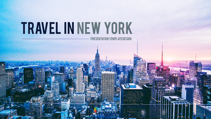Travel in New York premium PowerPoint Templates_01