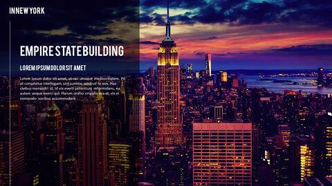 뉴욕 여행 프리미엄 파워포인트 템플릿_20