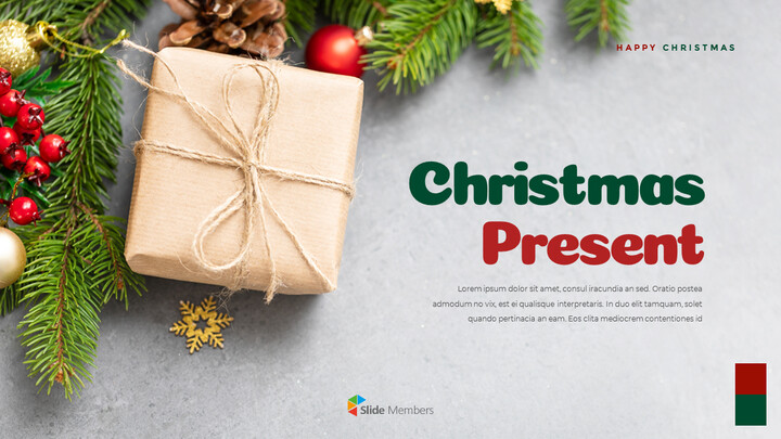 Christmas Present PowerPoint Business Templates_01