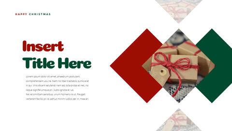 크리스마스 선물 파워포인트 비즈니스 템플릿_15