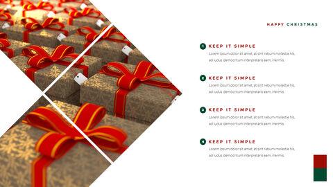 크리스마스 선물 파워포인트 비즈니스 템플릿_16