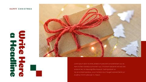 크리스마스 선물 파워포인트 비즈니스 템플릿_17