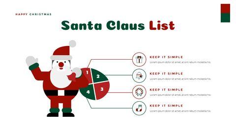크리스마스 선물 파워포인트 비즈니스 템플릿_19