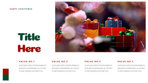 크리스마스 선물 파워포인트 비즈니스 템플릿_20
