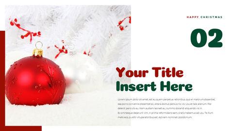 크리스마스 선물 파워포인트 비즈니스 템플릿_21