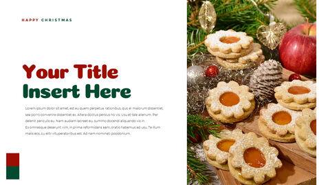 크리스마스 선물 파워포인트 비즈니스 템플릿_23