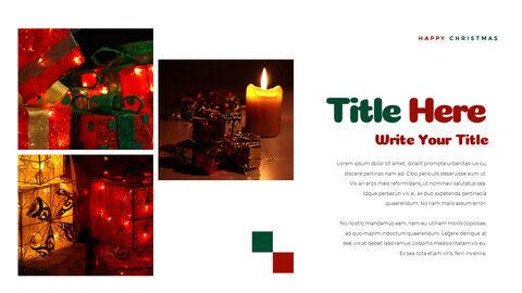 크리스마스 선물 파워포인트 비즈니스 템플릿_24