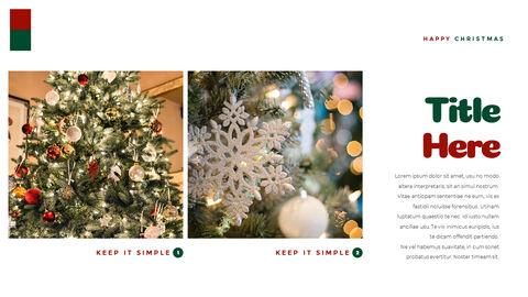 크리스마스 선물 파워포인트 비즈니스 템플릿_29
