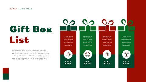 크리스마스 선물 파워포인트 비즈니스 템플릿_37