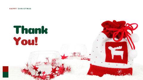 크리스마스 선물 파워포인트 비즈니스 템플릿_40