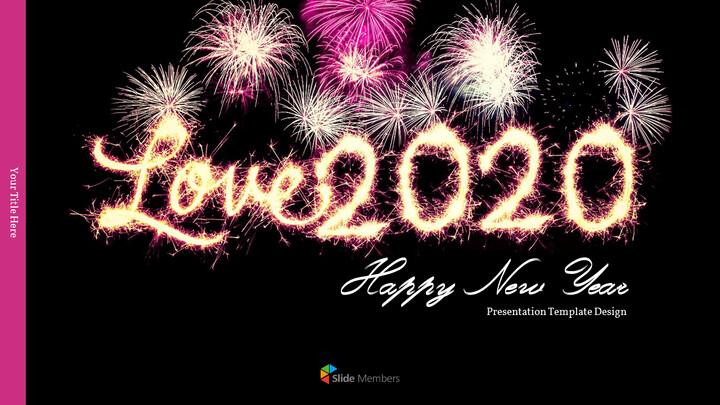 Love 2020 프레젠테이션용 PowerPoint 템플릿_01