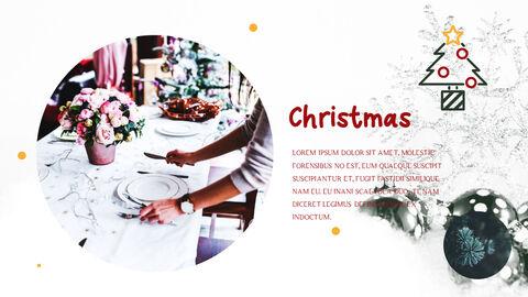 메리 크리스마스 간단한 디자인 템플릿_11