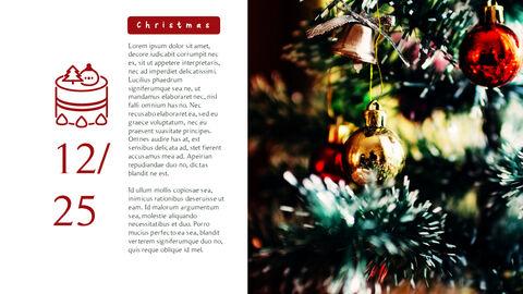 메리 크리스마스 간단한 디자인 템플릿_12