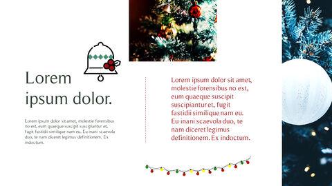 메리 크리스마스 간단한 디자인 템플릿_14