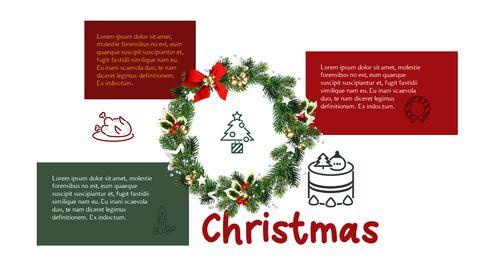 메리 크리스마스 간단한 디자인 템플릿_16
