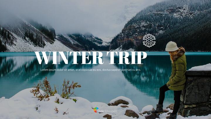 겨울 여행 파워포인트 레이아웃_01