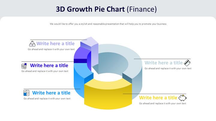 3d Growth Pie Chart Diagram (Finance)_01