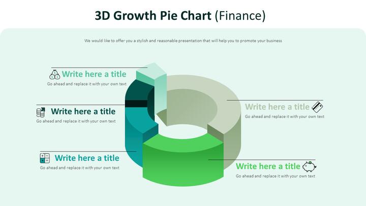 3d Growth Pie Chart Diagram (Finance)_02