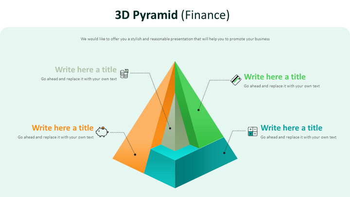 3d Pyramid Diagram (Finance)_02