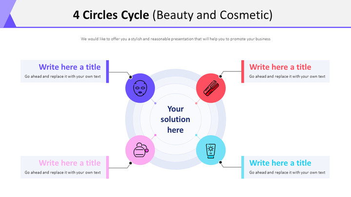 4 Circles Cycle Diagram (Beauty and Cosmetic)_01