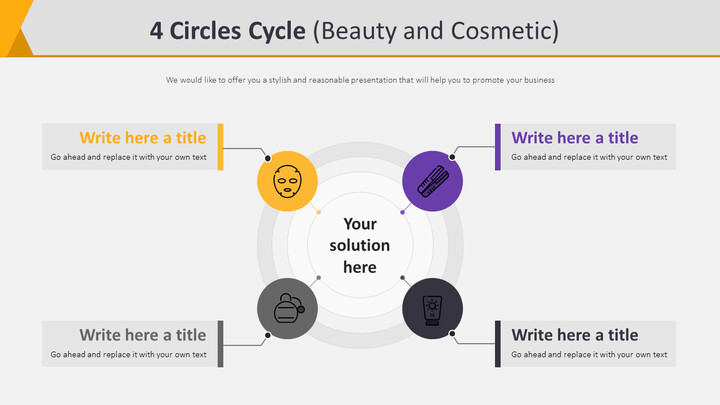 4 Circles Cycle Diagram (Beauty and Cosmetic)_02