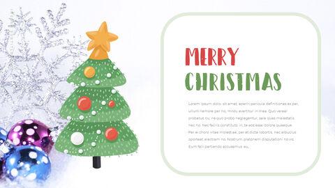 행복한 크리스마스 피피티 템플릿 디자인_03