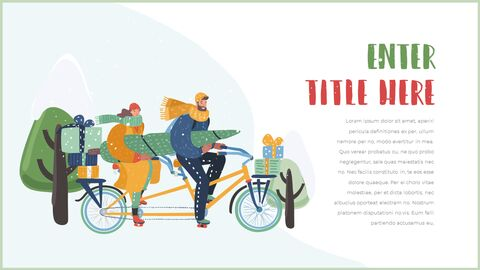 행복한 크리스마스 피피티 템플릿 디자인_04