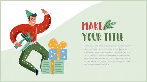 행복한 크리스마스 피피티 템플릿 디자인_08
