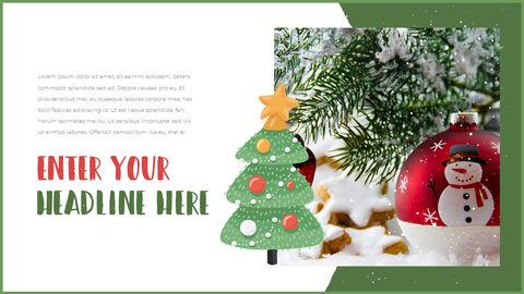 행복한 크리스마스 피피티 템플릿 디자인_11