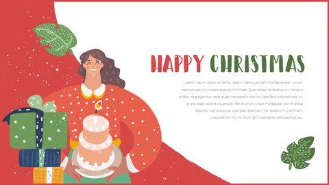 행복한 크리스마스 피피티 템플릿 디자인_12