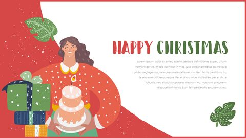 Happy Christmas PPT Templates Design_04