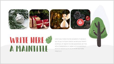 행복한 크리스마스 피피티 템플릿 디자인_14