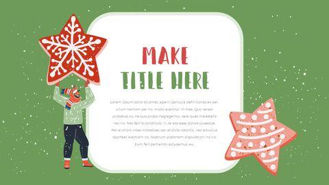 행복한 크리스마스 피피티 템플릿 디자인_15