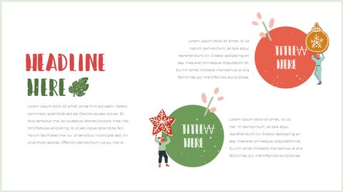 행복한 크리스마스 피피티 템플릿 디자인_17