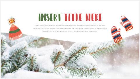 행복한 크리스마스 피피티 템플릿 디자인_18