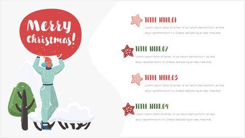 행복한 크리스마스 피피티 템플릿 디자인_19