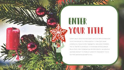 행복한 크리스마스 피피티 템플릿 디자인_23