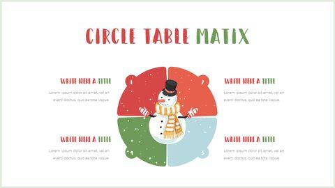 행복한 크리스마스 피피티 템플릿 디자인_38