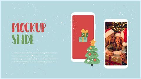 행복한 크리스마스 피피티 템플릿 디자인_39