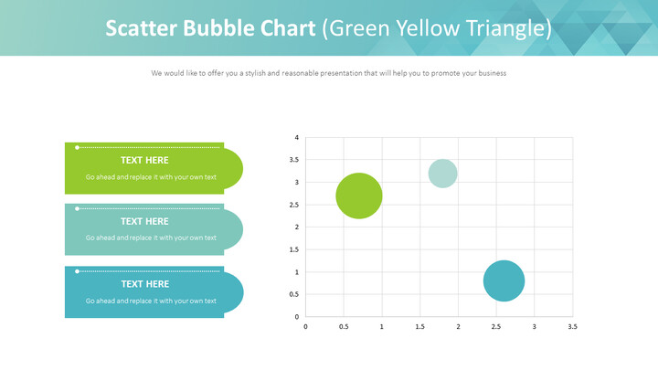 분산 형 버블 차트 (녹색 노랑 삼각형)_01