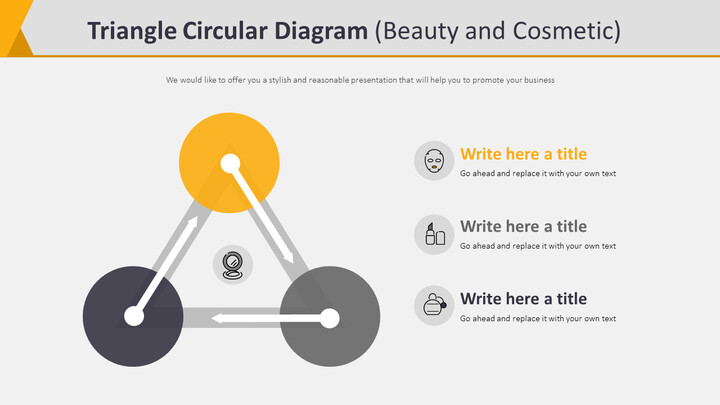 Triangle Circular Diagram Diagram (Beauty and Cosmetic)_02